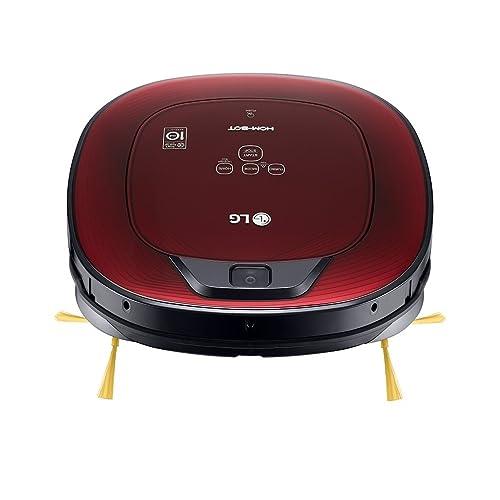 LG VSR8600RR - Hombot Turbo Serie 8. Robot aspirador, casas con alfombras, color