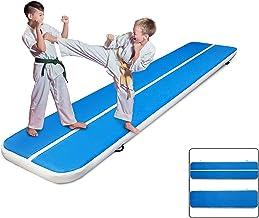 Morffa 300 x 200 x 20 cm opblaasbare gymnastiekmat Air Track Taumelende mat voor gymnastiek, gym
