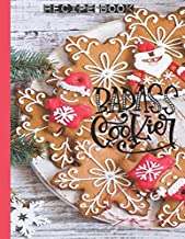 BADASS COOKIER Recipe Book: Gingerbread Cookies Shabby Chic Recipe Keepsake - Make Your Own Cookbook XXL (8.5 x 11) My Best Recipes & Blank Recipe ... & Organizer to write in (Recipe keeper)