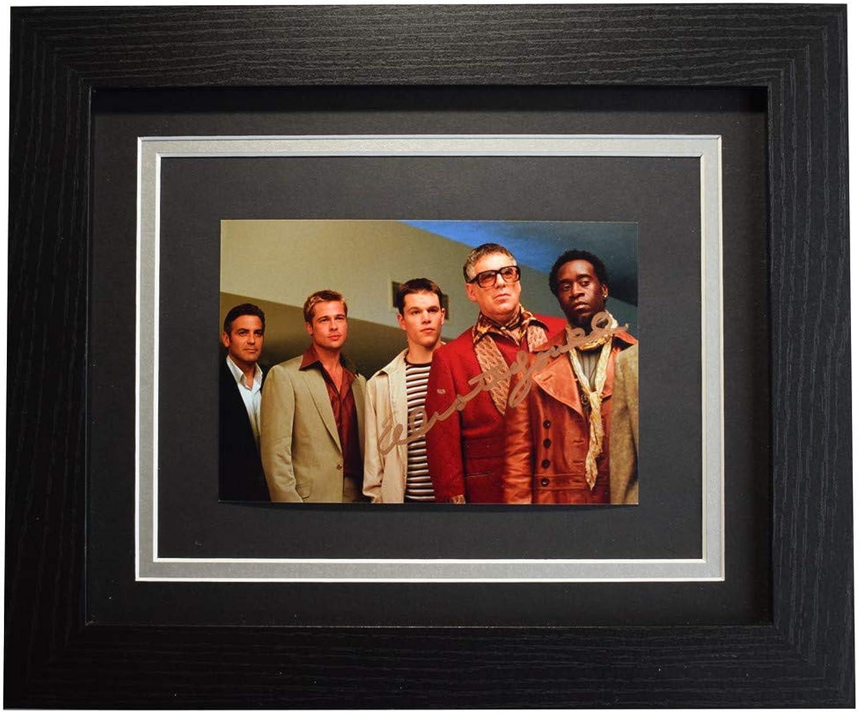 Sportagraphs Elliott Gould Signed 10x8 Framed Photo Autograph Display Oceans Eleven Film COA