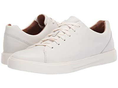 Clarks Un Costa Lace (White Leather) Men