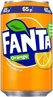Coca Cola Fanta Oranje blik, 330 ml