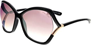 Astrid-02 Black / Purple Lens Mirror Sunglasses