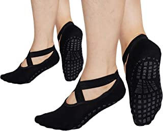 Best grip socks pilates Reviews