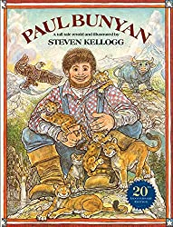 Image: Paul Bunyan (Reading rainbow book), by Steven Kellogg (Author, Illustrator). Publisher: HarperCollins; Reprint edition (February 3, 2004)
