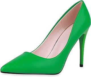 Suchergebnis auf für: Grün Pumps Damen: Schuhe