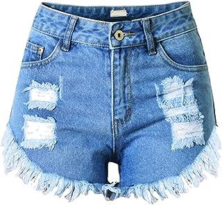 e1ffde04791ba Lannister Femme Femme Cool Trous Shorts Jeans Denim Élégant Ripped Jeans  Vêtements de fête De Mode