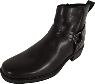 Memphis One Mens Harness Motorcycle Ankle Boot Shoes