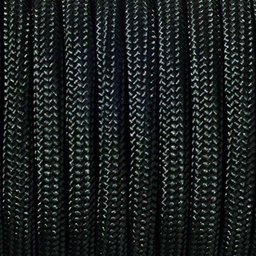 EFCO- Paracord 550 Kordel Bänder 4 mm(4 m,schwarz)
