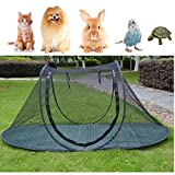 Pet Camping Tent Playpens Cage for Dogs Cats - Birds Parrots Playpens House Small Animal Indoor/Outdoor Play Tent Shelter Breathable Turtles Reptiles Cage (Type2)