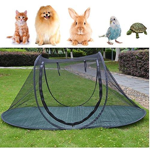 Jaula de juegos para perros y gatos, para camping, para pájaros, loro