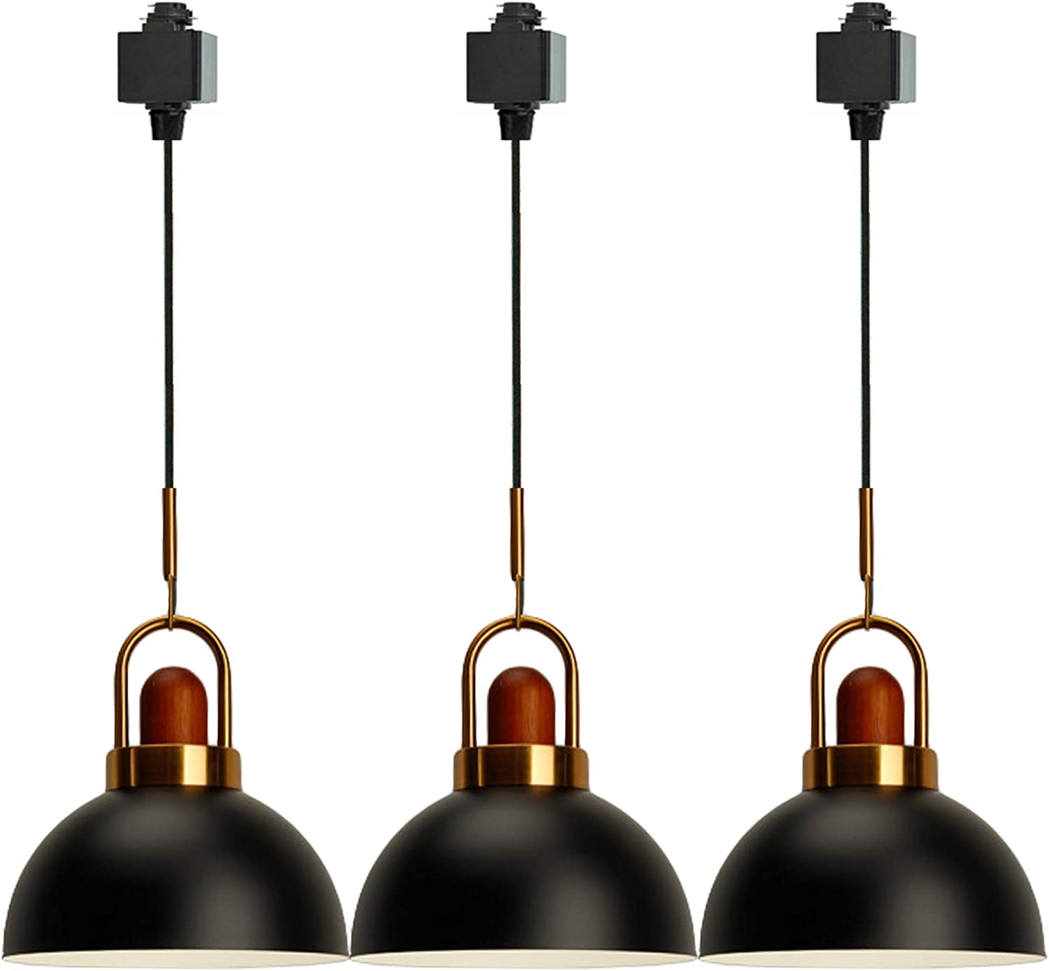 SKIVTGLAMP Wooden Iron Brass Handle Light Socket H-T E26 Clearance At the price SALE Limited time Pendant