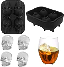 Wifigds 3D ijsblokjes, schedelvormen, whiskystenen...