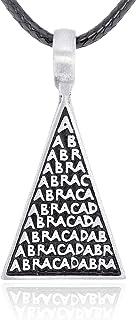 Namaste Jewelers Abracadabra Magic Charm Pendant Necklace Pewter Jewelry