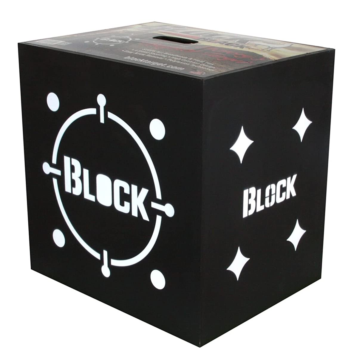 Block Black Crossbow 4-Sided Archery Target - Designed for the Crossbow Archer