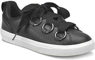 CS18097 Siyah Kadın Sneaker Ayakkabı