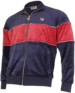 Men's Rocco Zip Front Velour Track Jacket