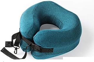 LXRZLS Oreillers cervicaux, Oreiller de Voyage avec Support Ultra-Confortable for Avion, Oreiller en Forme de U (Color : E)