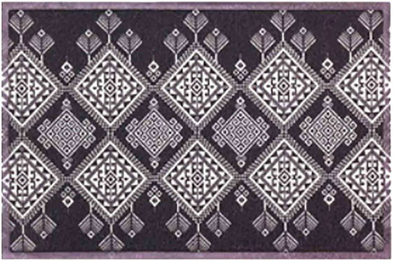Door mat,Entrance Door mats Non Slip Door mat Floor mat Carpet Entrance mat Front Door mat Waterproof Easy Clean-Diamond 60x90cm(24x35inch)