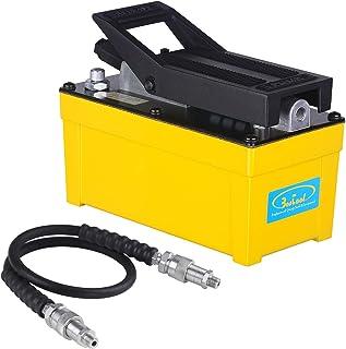 BESTOOL Air Hydraulic Pump - 10,000 PSI Hydraulic Pressure 1/2 Gal Reservoir Foot Pump Air...