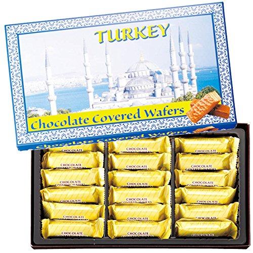 トルコ 土産 トルコ チョコウエハース 1箱 (海外旅行 トルコ お土産)