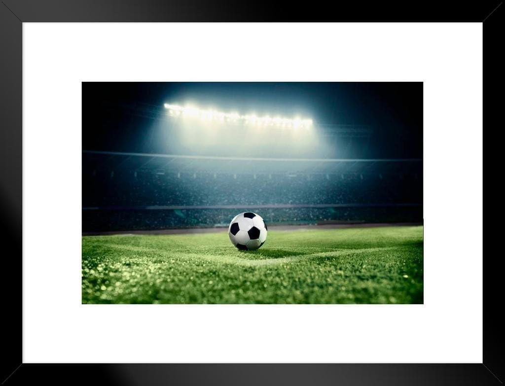 Poster Foundry Soccer Ball Corner Kick Arena Max 70% OFF Stadium Dramatic Ph Albuquerque Mall