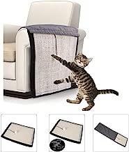 Goolsky Cat Scratcher Cat Scratch Pad Cat Nail Trim Furniture Protector Anti-scratch Cat Training Pad Cat Scratch Deterrent