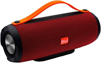 Wireless Bluetooth Speaker Portable Portable Waterproof Outdoor Speaker (Color : Red) photo