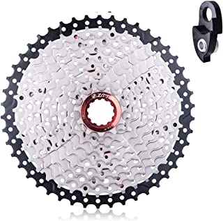 Ztto 10 Speed 11-46T Wide Ratio Cassette with Derailleur Extender for Mountain Bikes
