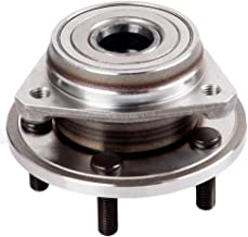 TUPARTS 513158 Wheel Bearing and Hubs Front Compatible with Ford Explorer Ford Mustang Ranger Jeep Wrangler 1982-2014 Lincoln Town Car Mazda B4000 Jeep Liberty Compass Patriot 513158 W/O ABS Sensor
