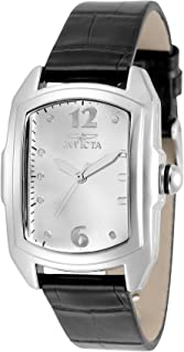 Invicta Women's Lupah Alloy Steel Quartz Watch with 15 mm Multi-Colors Leather Strap