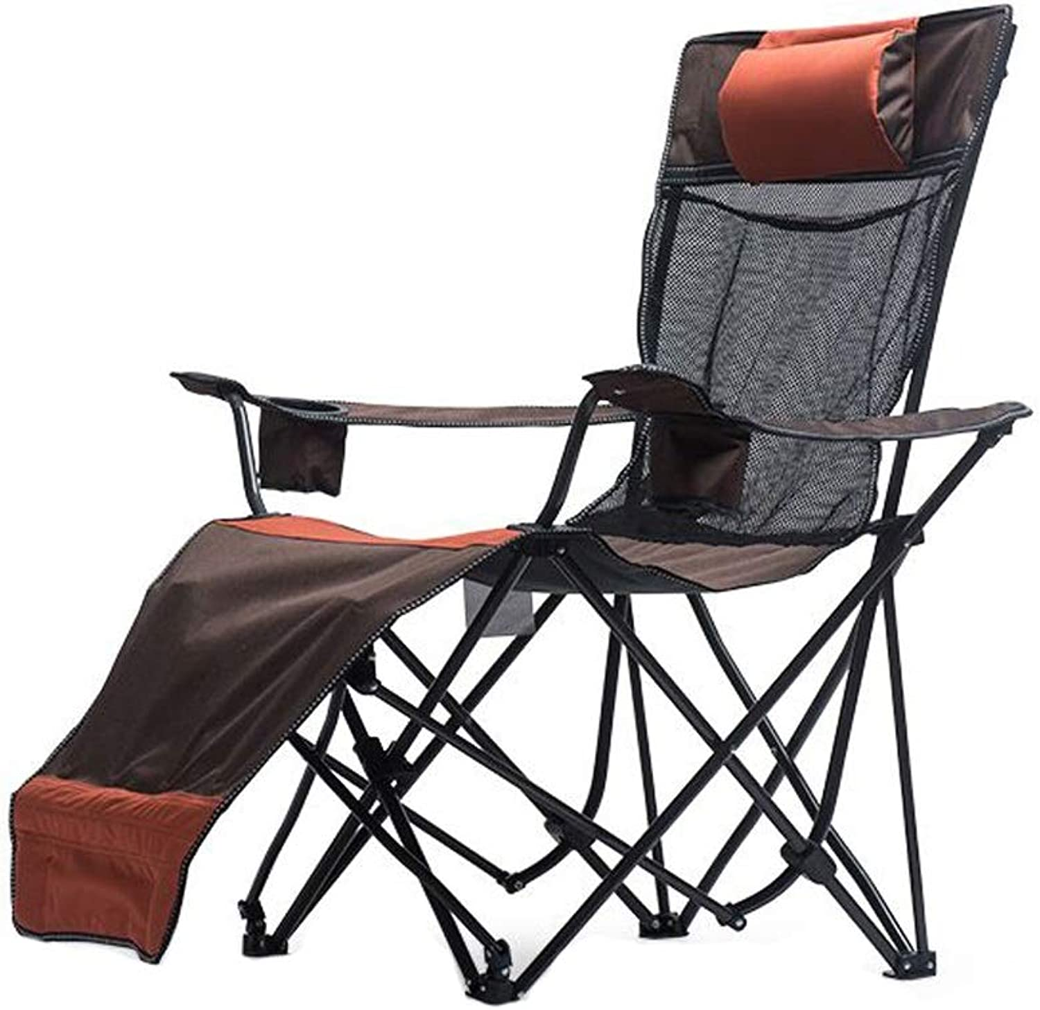 Nevy Reclining with Cup Holder Folding Compact Portable Outdoor Camp Chairs Fishing Seat