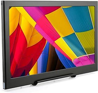 ELECROW 13.3インチモニター IPS 薄型1.5cm 1920x1080解像度 ディスプレイ HDMI*2 Micro USB*1 スピカー内蔵 PS3 PS4ゲーム用 スクリン Raspberry Pi B+ 2B 3B WiiU Xbox 360 Windows 7/8/10対応