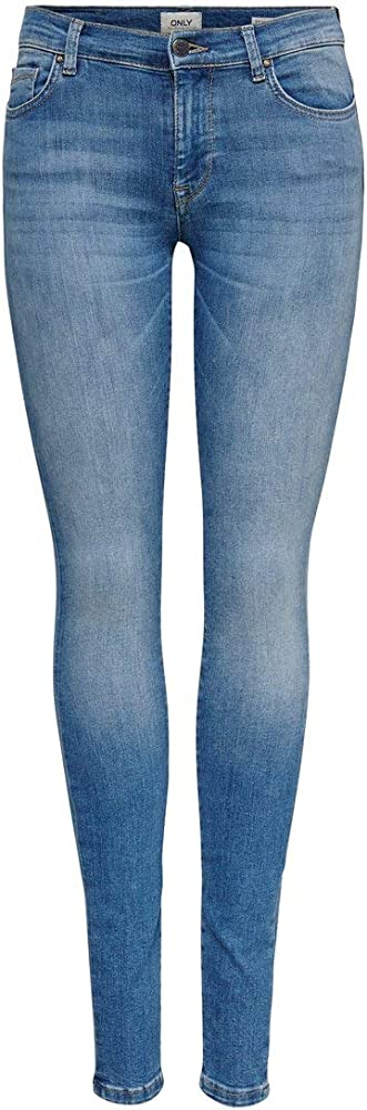 Only ,jeans skinny per donna,88% cotone, 10% poliestere, 2% elastan 15147092