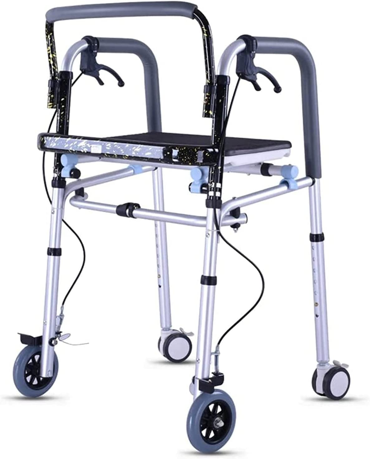QIQIZHANG Walkers for New product Seniors Easy Portable Operate to Cheap SALE Start R