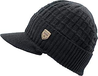 LLmoway الرجال النساء الشتاء متماسكة قناع الكفة قبعة الصوف مبطن دافئ تزلج الجمجمة كاب