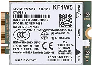 Zopsc 4G LTE WWAN NGFF Card Module Replacement Wireless EM7455 for Dell DW5811e Qualcomm
