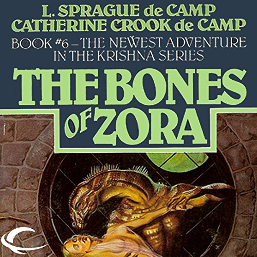 The Bones of Zora audiobook cover art