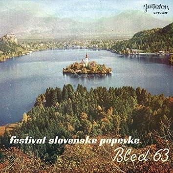 Festival Slovenske Popevke, Bled 1963.