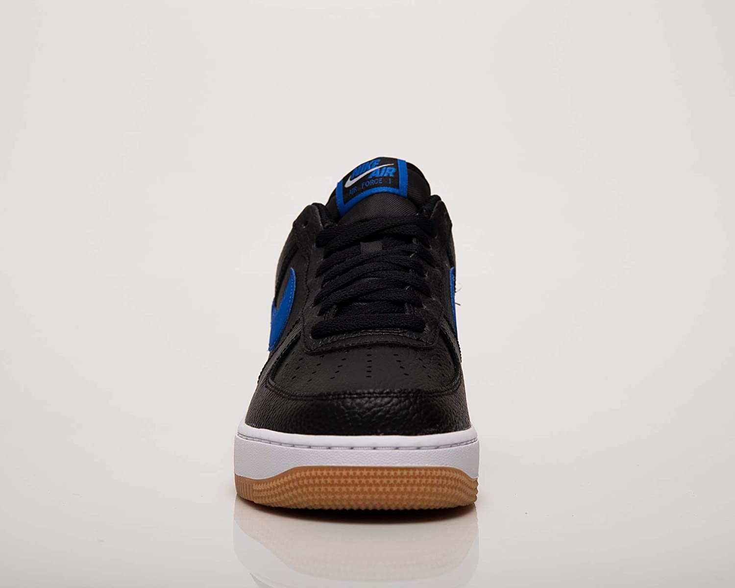 Nike Air Force 1 07 2, Chaussures de Basketball Homme Multicolore Black Game Royal White Gum Med Brown 001