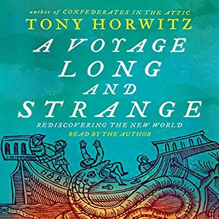 A Voyage Long and Strange audiobook cover art