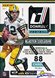 2016 Donruss NFL Football EXCLUSIVE Factory Sealed Retail Box with ROOKIE MEMORABILIA Card Plus RC & INSERT in EVERY Pack! Look for Autographs of Tom Brady, ... rookie card picture