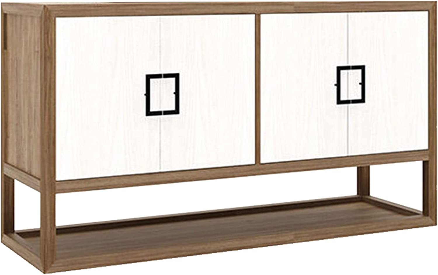 QINJIE Large-scale sale Buffet Sideboard Wood Max 72% OFF Cabinet Storage Buf