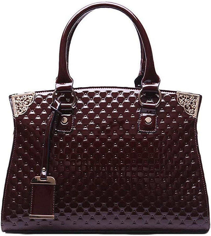 Ladies Handbag Women's Tote, Fashion Crossbody Shoulder Bag Travel Tote (color   Brown, Size   One Size)