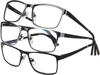 Design Optics by Foster Grant Full-Frame Metal Big 3-Reading Glasses (+2.00)