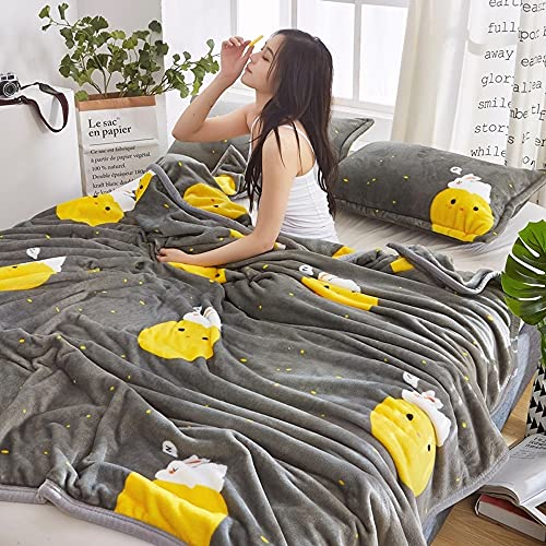 Vinteen Blanket Muster Fleece Decke Soft Warm Throws Decken für Sofa Home Bett Auto Reisebüro - Tagesdecke 3D-Druck Couch Abdeckung Luxus Super Flanell Plüsch Throw Quilt Bettwäsche Maschine waschbar
