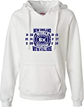 Womens We're Still Here World Champions New England Deluxe Soft Hoodie