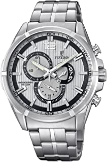 Festina Casual Watch For Men Analog Stainless Steel - F6865/1