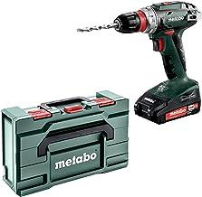 Metabo 602217950 Taladro atornillador, 18 V, Negro