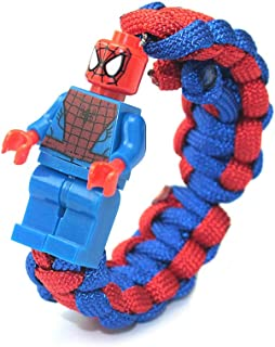 spiderman paracord bracelet